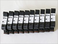 HP 45A Black 10-pack CG339A ink cartridges