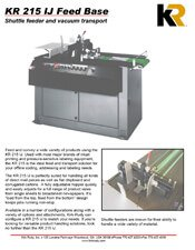 KR215IJ Feed Base brochure