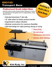 KR519S Split Belt Base brochure