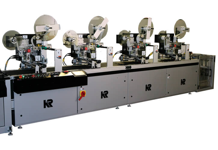 KR555RFID Label Applicator