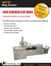 KR725 Bag Feeder brochure