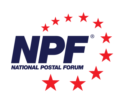National Postal Forum logo logo