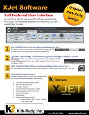 XJet Software brochure