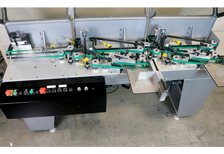 KR355 Small Product Edge Stacker