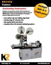 KR545D Tabber brochure