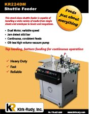 KR224 Shuttle Feeder brochure