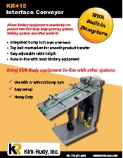 KR415 Interface Conveyor brochure