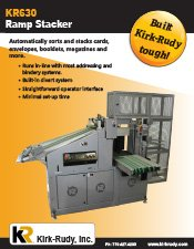 KR630 Stacking System brochure