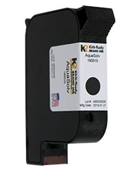 KR Brand AquaSolv Black ink cartridge