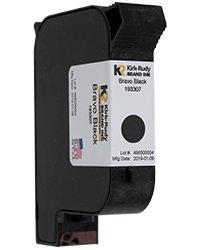 KR Brand Bravo Black ink cartridge