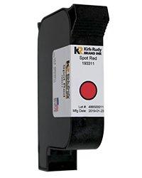 KR Brand Spot Red ink cartridge