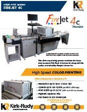FireJet 4C data sheet cover